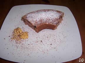 Ciambella frutta secca e cioccolato