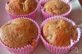 Muffin integrali alla pesca