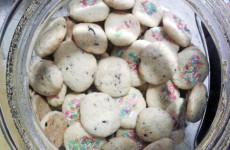 Biscottini da tè di pasta frolla