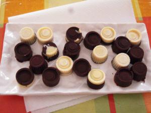 Cioccolatini semplici variegati