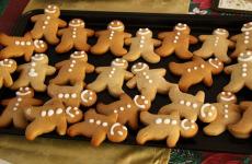 Biscotti omini di pan di zenzero