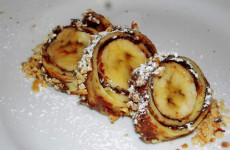 Sushi dolce di banane