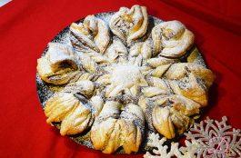 Fiocco di neve alla nutella