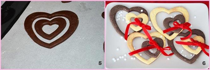 Biscotti di San Valentino: Doppi cuori da condividere