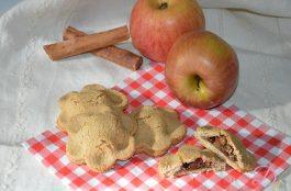 Biscotti integrali cuor di mela