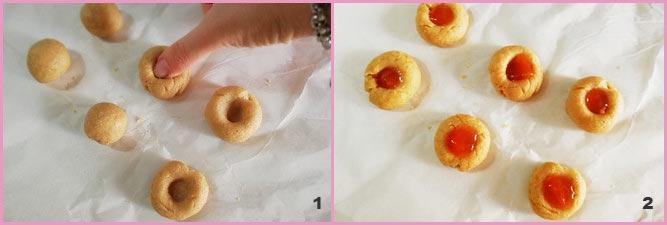 Biscottini integrali alla marmellata