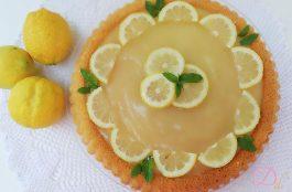 Torta furba al limone