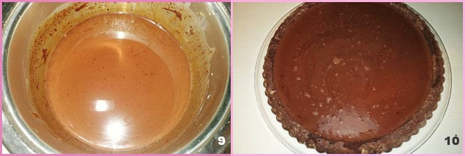 Torta furba cioccolato e panna