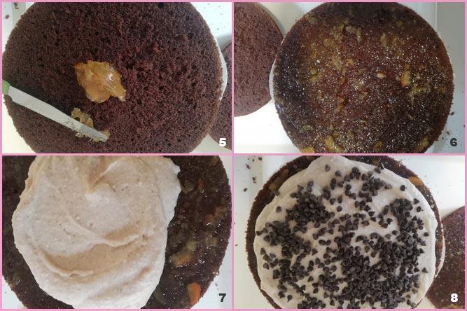 Torta cioccolato, ricotta e arance