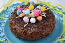 Ciambella nido di Pasqua