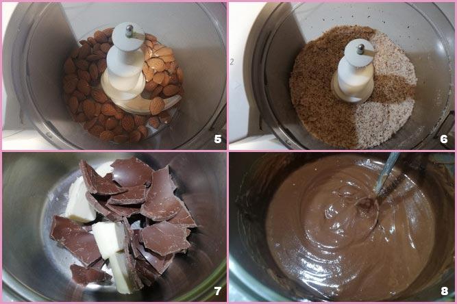 Crostata cioccolato e mandorle