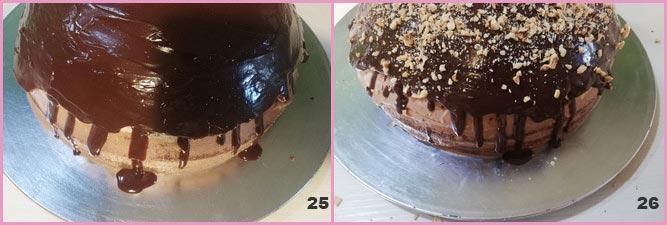 Torta cioccolato e panna alla Nutella