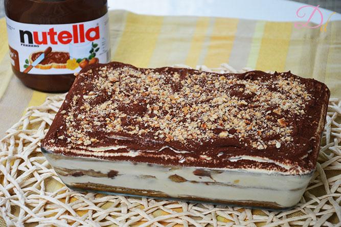 Bagno Nella Nutella.Tiramisu Alla Nutella Dolci Dessert