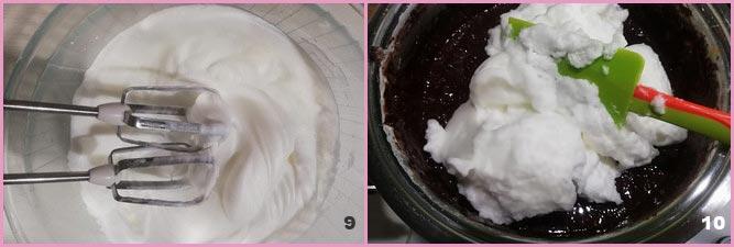 Torta di riso al cioccolato fondente
