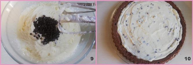 Torta furba ricotta e cioccolato