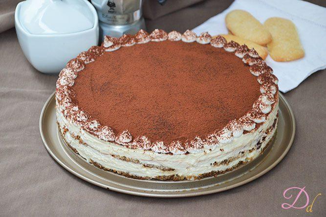 Ricetta Tiramisu Per Torta.Torta Tiramisu Dolci Dessert